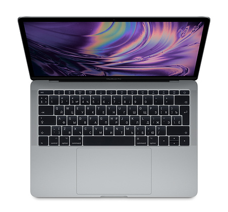"Ноутбук Apple MacBook Pro 13"" Core i5 2,3 ГГц, 8 ГБ, 256 ГБ SSD, Iris 640 Space Gray"